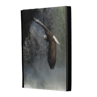 Bald Eagle & Waterfall Wild Animal iPad Folio Case