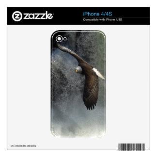 Bald Eagle & Waterfall Wild Animal iPhone Skin iPhone 4S Decal
