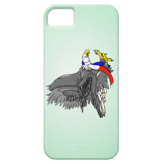 Bald Eagle Wearing Patriotic Neck Scarf iPhone SE/5/5s Case