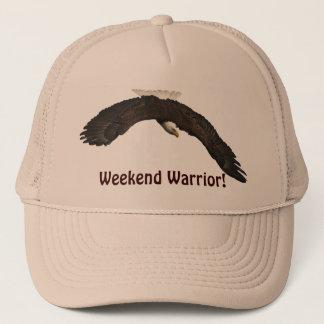 Bald Eagle Weekend Warrior Trucker Hat