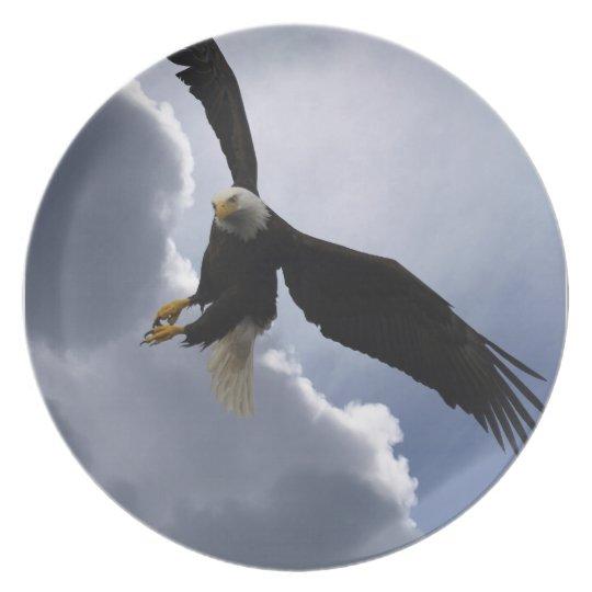 Bald Eagle Wildlife Inspirational Be Awesome Plate