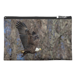 Bald Eagle with a Catfish Travel Accessory Bag