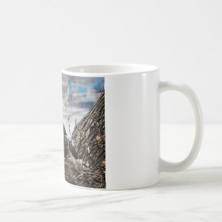 Bald Eagle with eaglets Coffee Mug