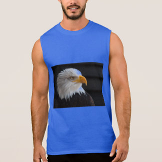 bald eagles flight freedom wings USA American Sleeveless Shirt
