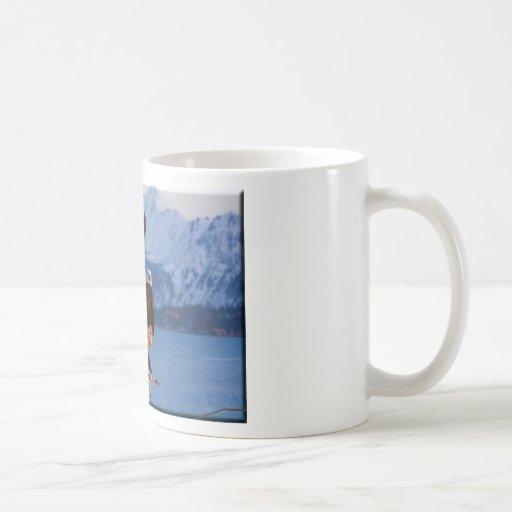 Bald Eagles Homer Alaska Classic White Coffee Mug