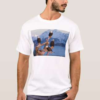 Bald Eagles Homer Alaska T-Shirt