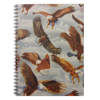 Bald Eagles in Flight Notebook