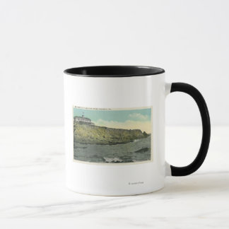Bald Head Cliff and Exterior of Cliff House # Mug
