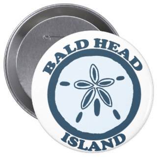 Bald Head Island. Pinback Button
