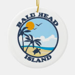 Bald Head Island. Ceramic Ornament