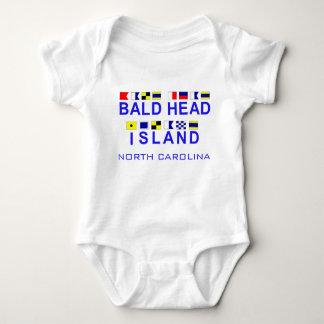 Bald Head Island NC w/Maritime Spelling Infant Creeper
