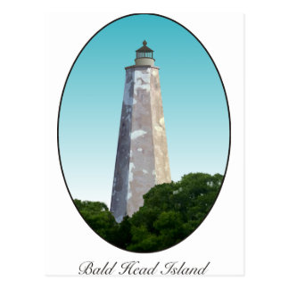 Bald Head Postcard