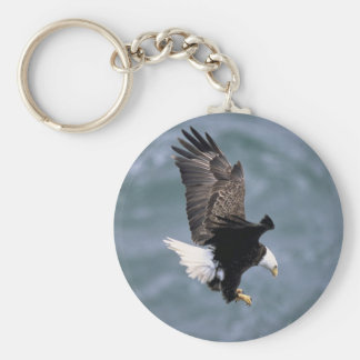 Bald Headed Eagle Keychain