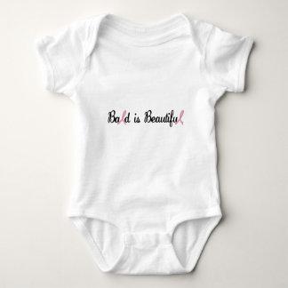 BALD IS BEAUTIFUL BABY BODYSUIT