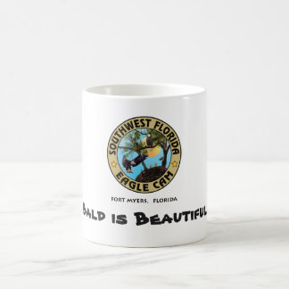 Bald is Beautiful Bald Eagle Coffee Mug