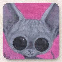 cat, sphynx, sugar, fueled, coallus, michael, banks, kitten, pink, sweet, cake, [[missing key: type_fuji_coaste]] com design gráfico personalizado
