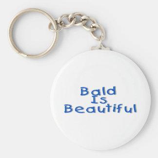 Bald Is Beautiful Keychain
