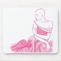Bald Is Beautiful Mouse Pad