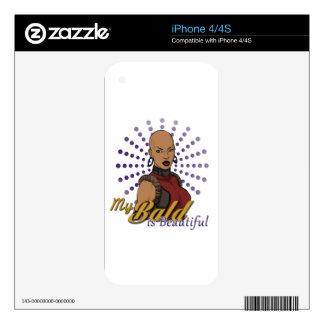 Bald-Is-Beautiful.png Skins Para eliPhone 4S