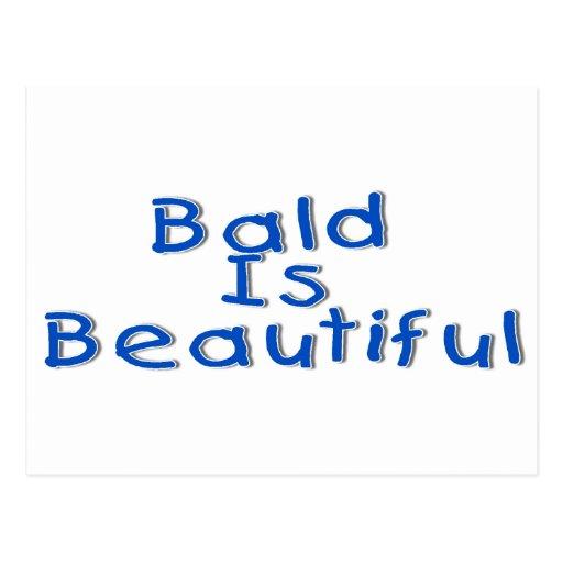 Bald Is Beautiful Postcard