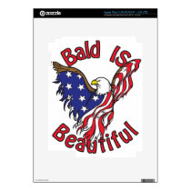 Bald is Beautiful - style4 iPad 3 Decal
