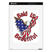 Bald is Beautiful - style4 iPad Decal