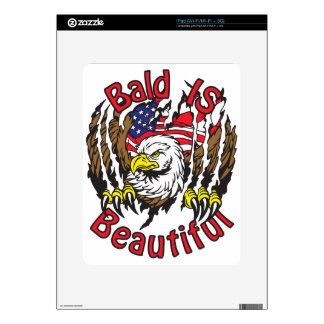 Bald is Beautiful - style5 Decal For iPad