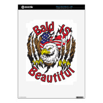 Bald is Beautiful - style5 Decals For The iPad 2