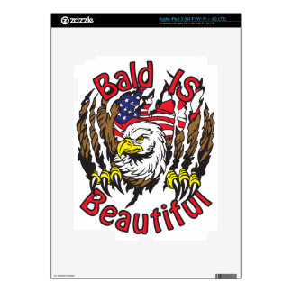 Bald is Beautiful - style5 iPad 3 Decals