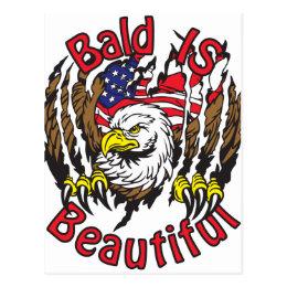 Bald is Beautiful - style5 Postcard