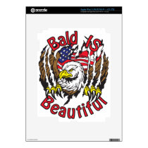 Bald is Beautiful - style5 Skin For iPad 3