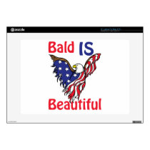Bald is Beautiful - style 1 Laptop Skin