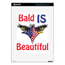 Bald is Beautiful  - style 2 iPad 3 Skin
