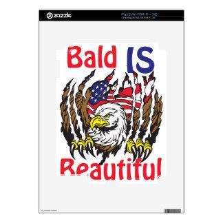 Bald is Beautiful  - style 3 iPad 2 Decal