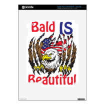 Bald is Beautiful  - style 3 iPad 3 Decal