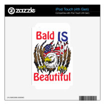 Bald is Beautiful  - style 3 iPod Touch 4G Skin