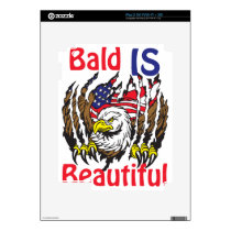 Bald is Beautiful  - style 3 Skin For iPad 2