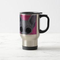 cat, sphynx, sugar, fueled, coallus, michael, banks, kitten, pink, sweet, cake, Mug with custom graphic design