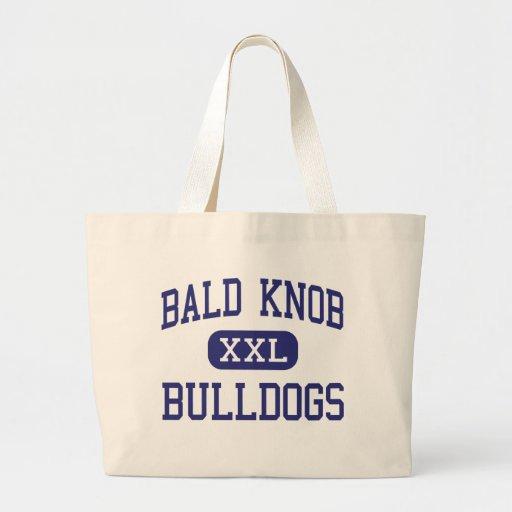 Bald Knob - Bulldogs - High - Bald Knob Arkansas Jumbo Tote Bag