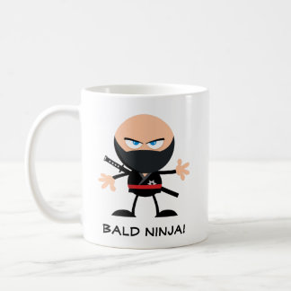 Bald Ninja Coffee Mug