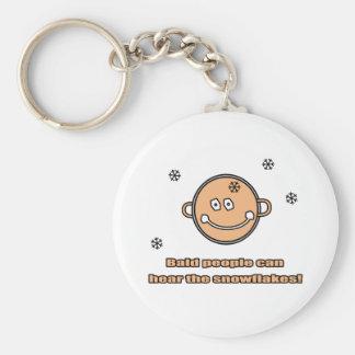 Bald people funy Keychain