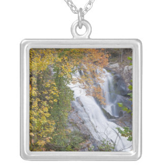 Bald River Falls Silver Plated Necklace