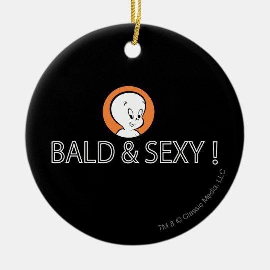 Bald & Sexy Ceramic Ornament