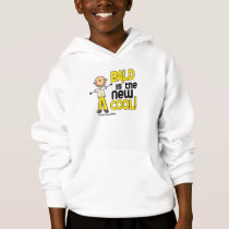 Bald Stick Figure Collection (Childhood Cancer) Hoodie