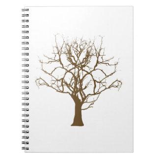 bald tree cash tree note book