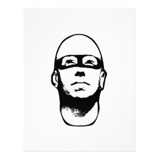 Baldhead Hero Illustration Letterhead
