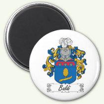 Baldi Family Crest Magnet
