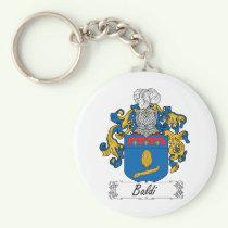 Baldi Family Crest Keychain
