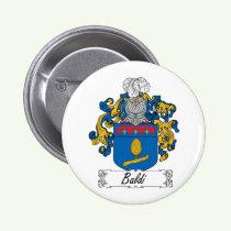Baldi Family Crest Button