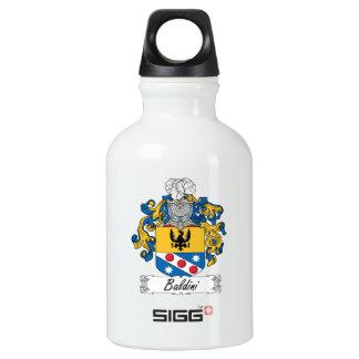 Baldini Family Crest Water Bottle